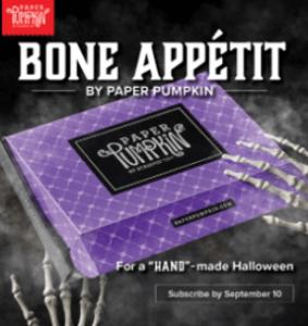 Bone Appetite - Paper Pumpkin