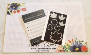 Stampin' Up! Gathered Leaves