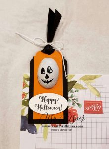 Stampin' Up! Wonderfully Wicked Treat Holder