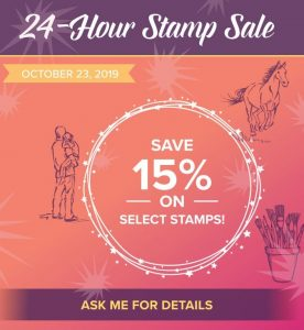 Stampin' Up! Stamp Sale