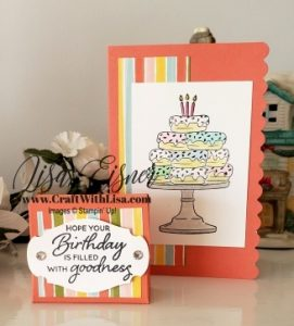 Stampin' Up! Birthday Goodness