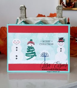 Stampin' Up! Let it Snow DSP