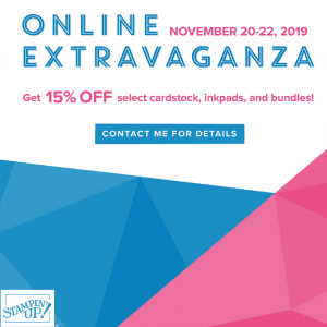 Stampin' Up! 2019 Online Extravaganza