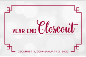 2019 Stampin' Up! Year-End Closeout