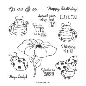 Stampin' Up! Little Ladybug Stamp Set