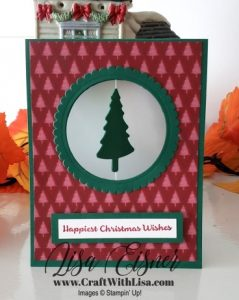 Stampin' Up! Pine Tree Punch