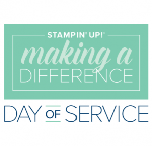 Stampin' Up! Day of Service