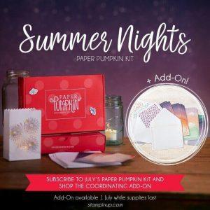 Stampin' Up! Summer Nights Paper Pumpkin Kit
