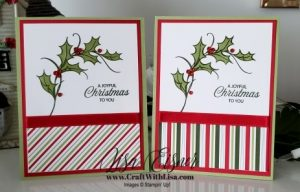 Stampin' Up! Joyful Holly