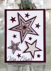Stampin' Up! Stitched Stars