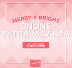 Stampin' Up! Merry & Bright Extravaganza