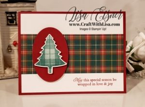 Stampin' Up! Perfectly Plaid