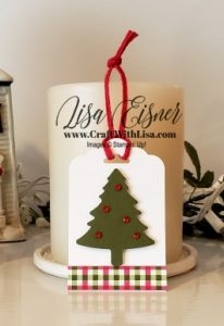 Stampin' Up! Christmas Tag