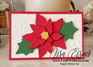 Stampin' Up! Poinsettia Dies
