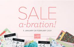 Stampin' Up! 2021 Sale-a-bration
