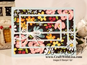 Stampin' Up! Flower & Field DSP