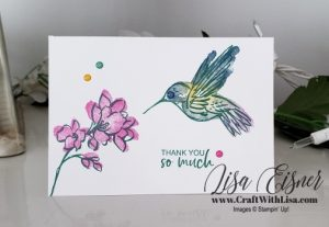 Stampin' Up! A Touch of Ink