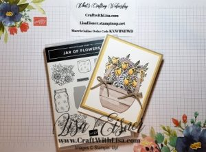 Stampin' Up! Jar o Flowers