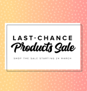 Stampin' Up! Last Chance Products Sale