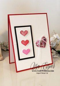 Stampin' Up! Hearts & Kisses
